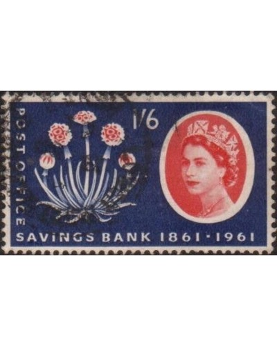 Great Britain 1961 SG625A 1/6d Post Office Savings Bank FU
