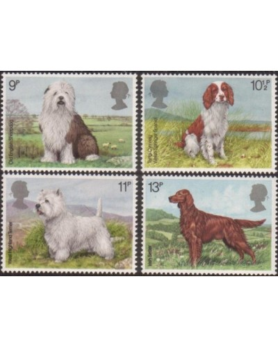 Great Britain 1979 SG1075-1078 Dogs set MNH