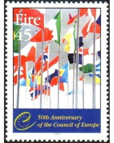 Ireland 1999 SG1227 45p Council of Europe flags MNG