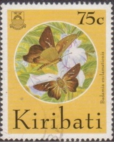 Kiribati 1994 SG456 75c Butterflies and Moths FU