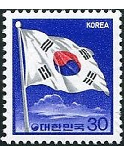 Korea South 1979 SG1370 30w National Flag MNH