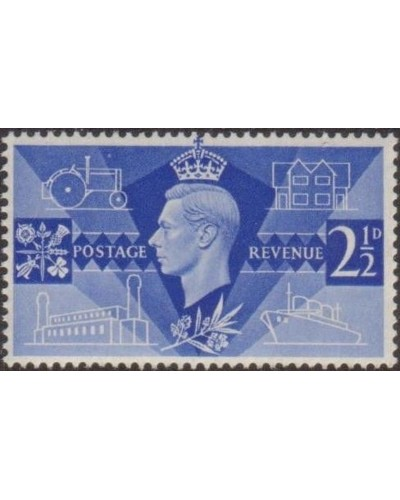 Great Britain 1946 SG491 2½d Victory Commemoration MLH