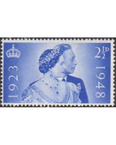 Great Britain 1948 SG493 2½d Royal Silver Wedding MLH