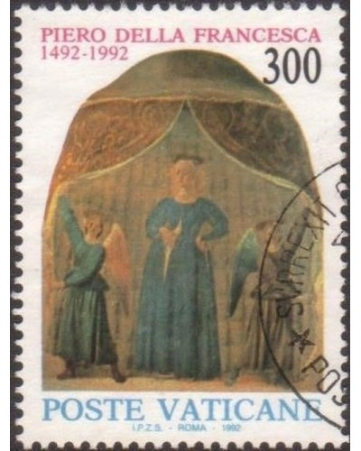 Vatican 1992 SG1006 300 lira Our Lady of Childbirth FU