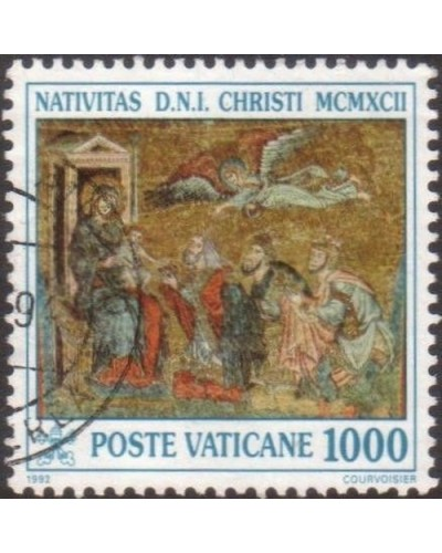 Vatican 1992 SG1025 1000 lira Adoration of the Kings FU