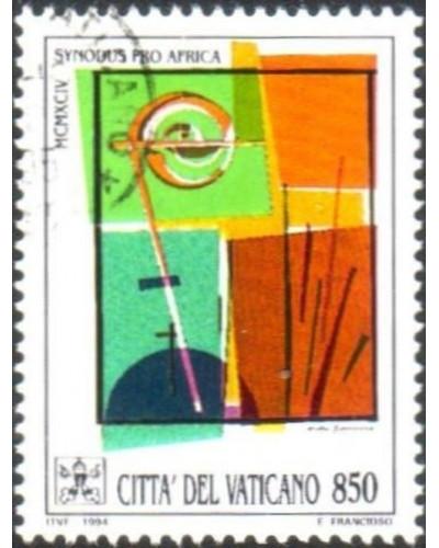 Vatican 1994 SG1064 850 lira Crosier and Dome FU