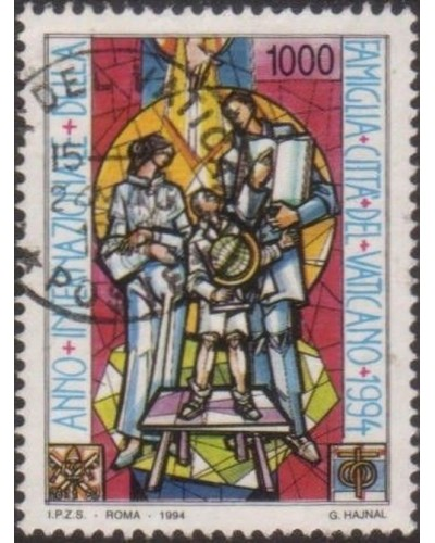 Vatican 1994 SG1068 1000 lira Year of the Family FU