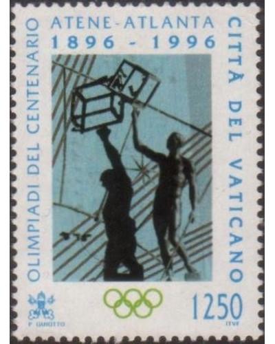 Vatican 1996 SG1127 1250 lira Modern Olympic Games FU