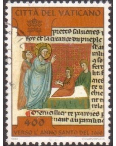 Vatican 1997 SG1167 400 lira Jesus healing Paralysed Man FU