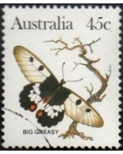 Australia 1983 SG795 45c Big greasy butterfly FU