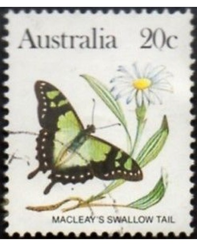 Australia 1983 SG787 20c Macleays swallow tail butterfly FU
