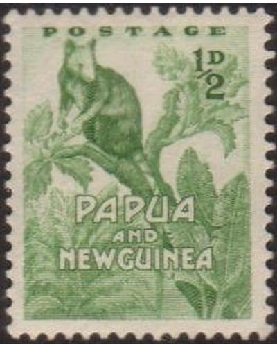Papua New Guinea 1952 SG1 ½d Tree Kangaroo MLH