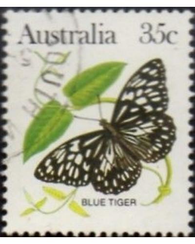 Australia 1983 SG793 35c Blue tiger butterfly FU