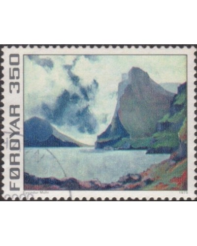 Faroe Islands 1975 SG17 350o Vidoy and Svinoy FU