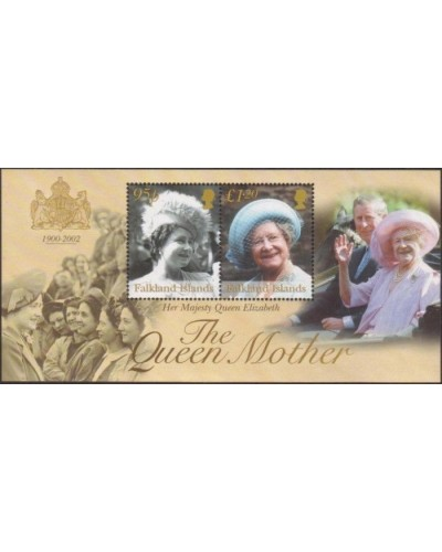 Falkland Islands 2002 SG936 The Queen Mother MS MNH
