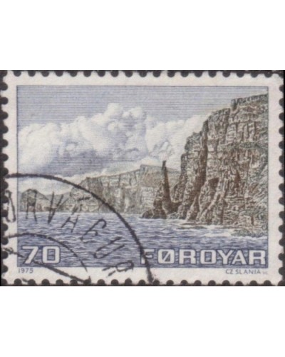 Faroe Islands 1975 SG10 70o West Sandoy FU