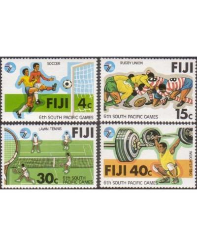 Fiji 1979 SG572-575 South Pacific Games set MNH