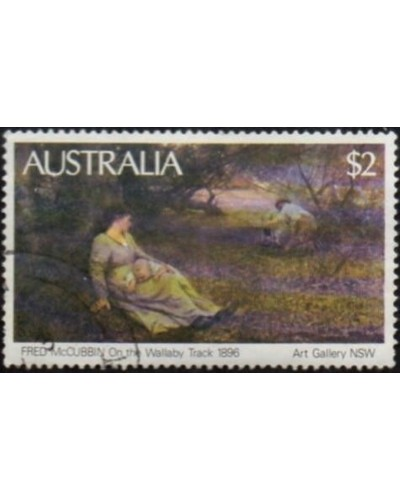 Australia 1981 SG778 $2 On The Wallaby Track painting FU