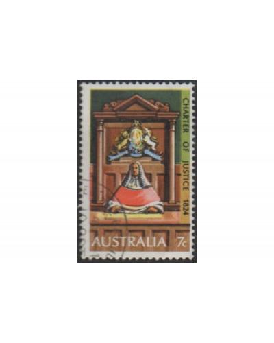 Australia 1974 SG568 7c Justice FU