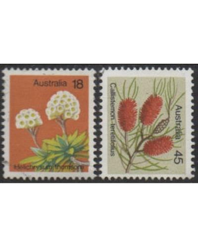 Australia 1975 SG608 Wildflowers set FU