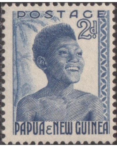 Papua New Guinea 1952 SG3 2d Native Youth MNH