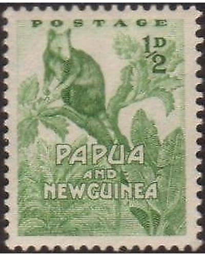 Papua New Guinea 1952 SG1 ½d Tree Kangaroo MNH