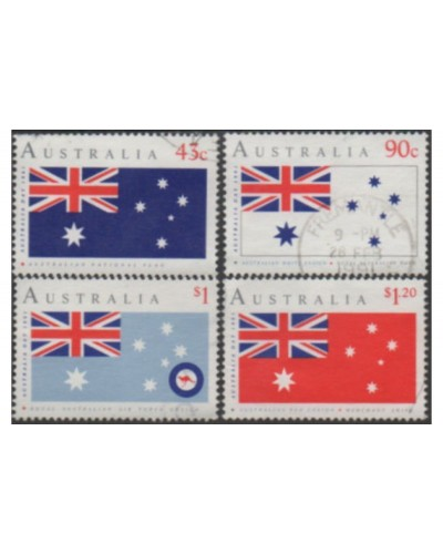Australia 1991 SG1275-1278 Australia Day flag set FU