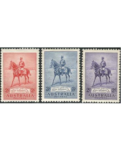 Australia 1935 SG156 Jubilee set MH