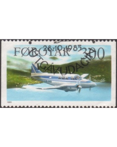 Faroe Islands 1985 SG124 300o Aircraft FU