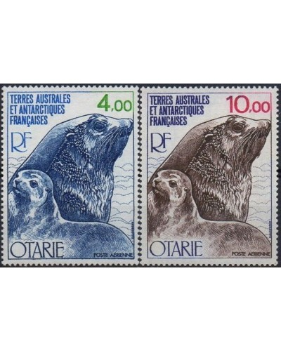 French Southern Antarctic Territory 1977 and 1979 SG125 Seals MNH