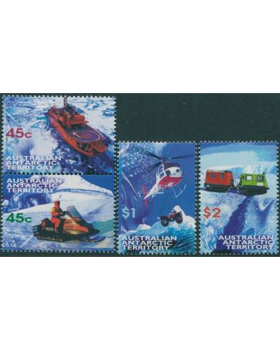 AAT 1998 SG122-125 Transport set MNH