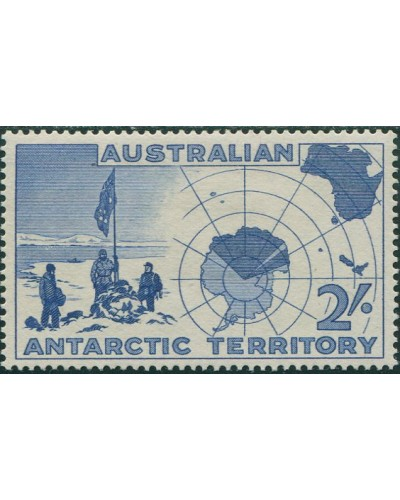 AAT 1959 Sc#L4,SG1 2/- Map MNH