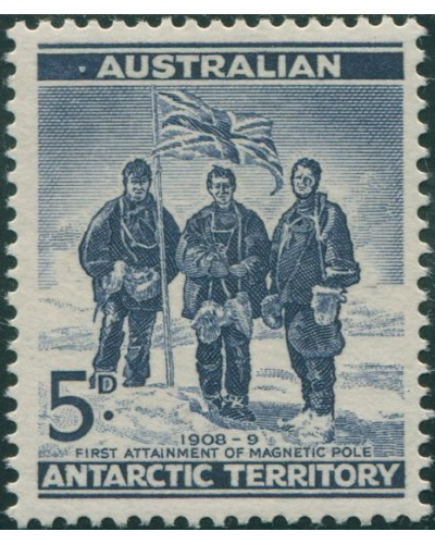 AAT 1961 Sc#L6,SG6 5d Shackleton Expedition MNH