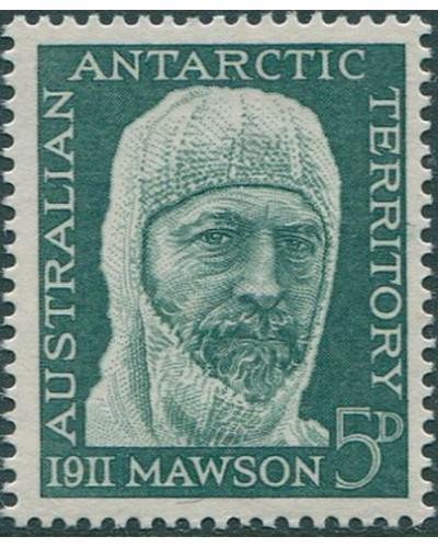 AAT 1961 SG7 5d Mawson MNH