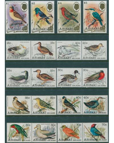 Aitutaki 1981 SG333-352 Birds MLH