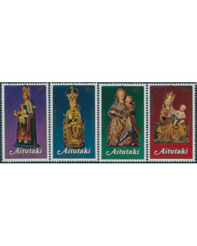Aitutaki 1982 SG425-428 Christmas set MNH