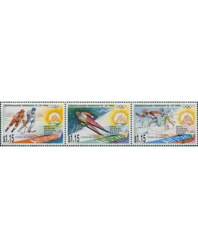Aitutaki 1994 SG658-660 Winter Olympics set MNH