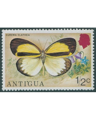 Antigua 1975 SG449 ½c Butterfly MLH