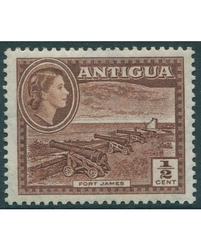 Antigua 1953 SG120a ½c Fort James QEII MLH