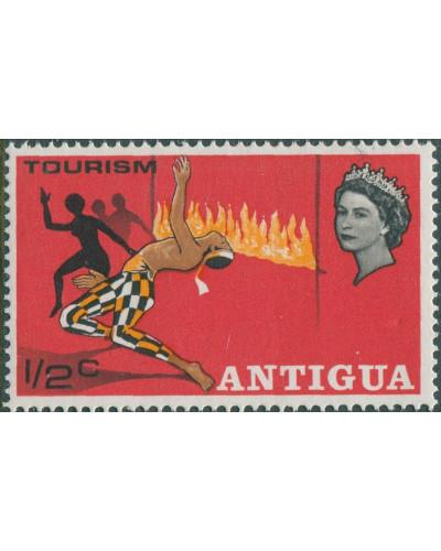 Antigua 1968 SG216 ½c Tourism QEII MNH