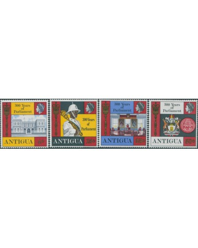 Antigua 1969 SG226-229 Parliament set MNH