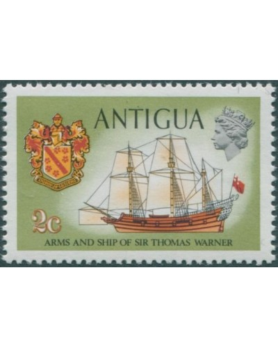 Antigua 1970 SG271 2c Sir Thomas Warner emblem and Concepcion MNH