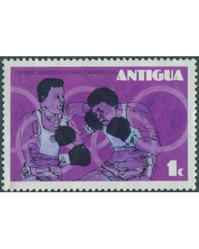 Antigua 1976 SG496 1c Olympic Games MLH