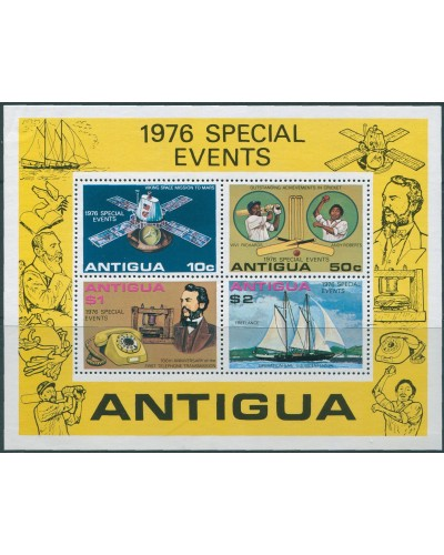 Antigua 1976 SG525 Special Events MS MNH