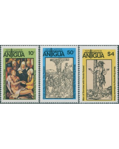 Antigua 1979 SG608-610 Easter set MNH