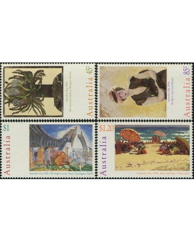Australia 1996 SG1573-1576 Australia Day paintings set MNH