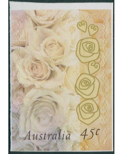Australia 1998 SG1755 45c Champagne Rose diecut MNH