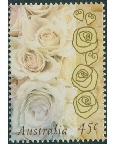 Australia 1998 SG1755 45c Champagne Rose MNH
