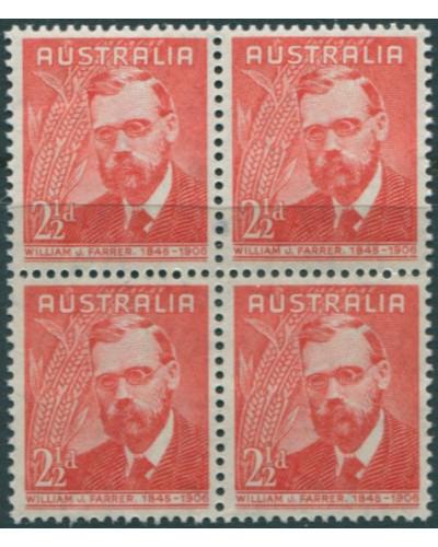 Australia 1948 SG225 2½d Farrer block MNH