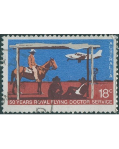 Australia 1978 SG663 18c Royal Flying Doctor Service FU